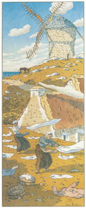 thumbnail Henri Rivière – « La Féerie des heures » Le Vent [from Maître français de l ukiyo-e Henri Rivière]