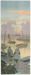 thumbnail Henri Rivière – « La Féerie des heures » Le Crépuscule [from Maître français de l ukiyo-e Henri Rivière]
