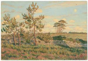 thumbnail Henri Rivière – Loguivy, juillet 1900 [from Maître français de l ukiyo-e Henri Rivière]