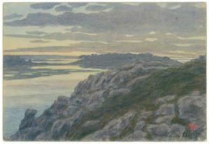 thumbnail Henri Rivière – Loguivy,  septembre 1901 [from Maître français de l ukiyo-e Henri Rivière]