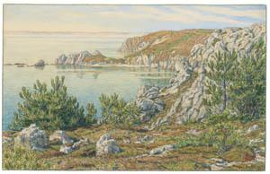 thumbnail Henri Rivière – Morgat, juillet 1903 [from Maître français de l ukiyo-e Henri Rivière]