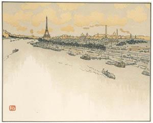 thumbnail Henri Rivière – Du Point-du-Jour [from Maître français de l ukiyo-e Henri Rivière]